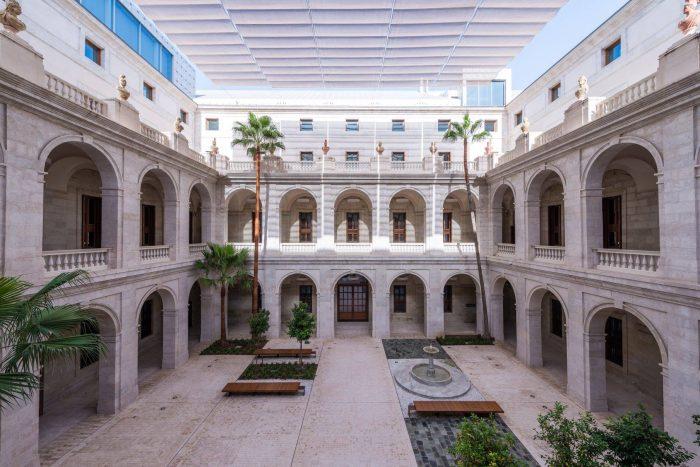 Patio Museo de Málaga. Imagen de Museo de Málaga.