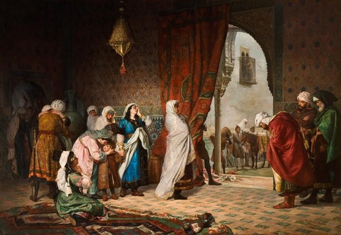 Salida De Boabdil de Granada. Imagen de wikipedia.