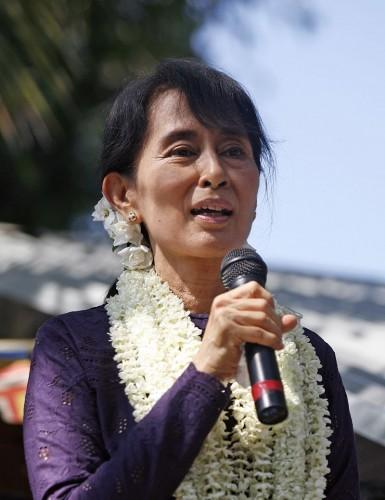 La política activista Aung San Suu Kyi