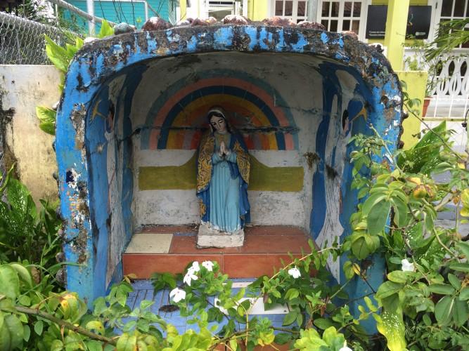 Virgen en Bocas Town