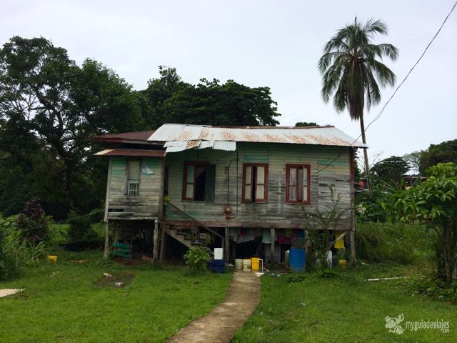 Típica vivienda indígena