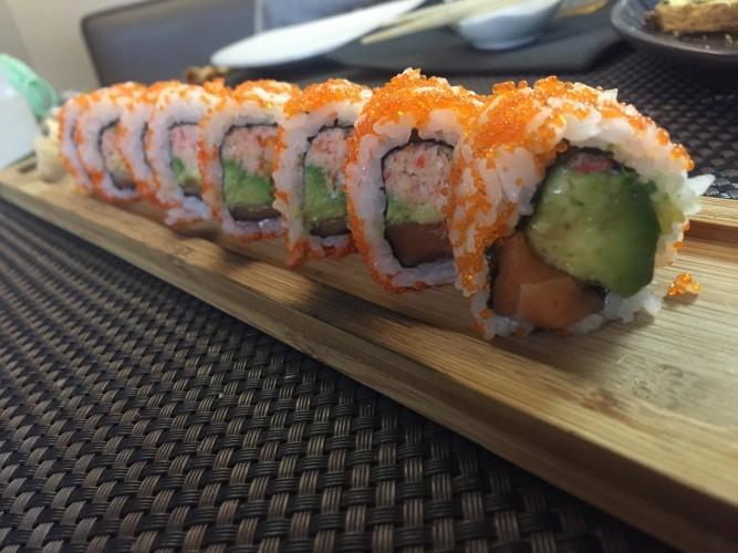 sushi en Rest. Cayetana