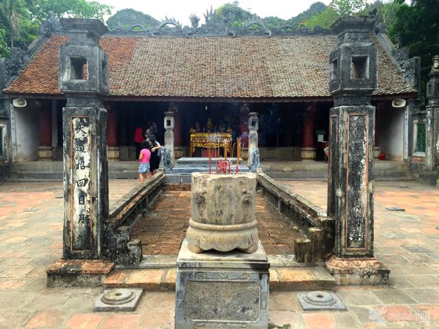Templo en Hoa Lu.