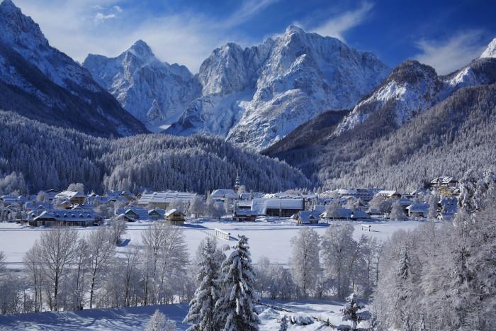 Kranjska Gora en invierno http://www.hotelklass.com/en/