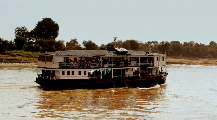 Mandalay slow boat