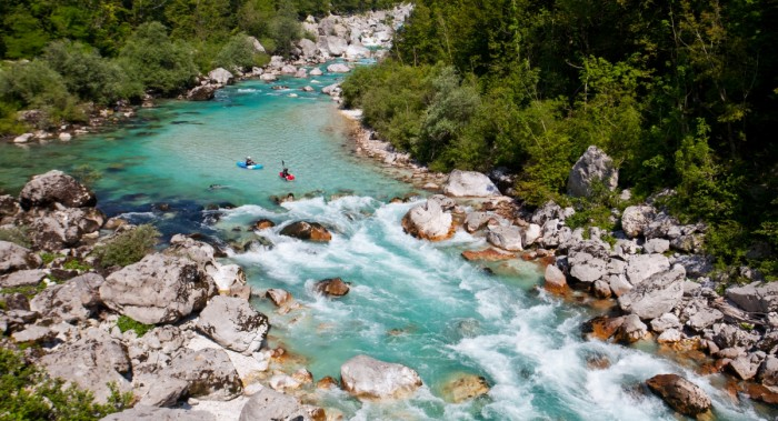 Rio Soca. www.slovenia.info