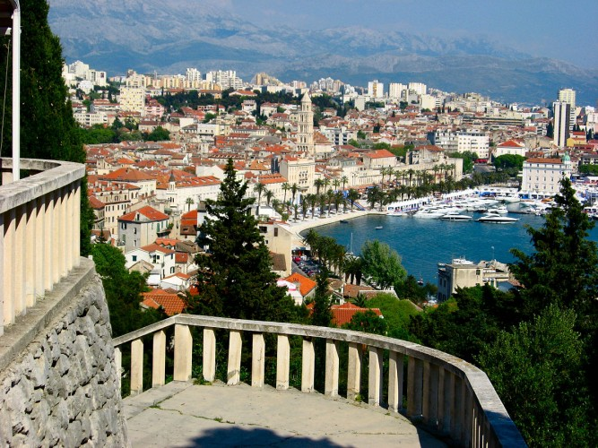 Vista de Split. foto: Wikipedia