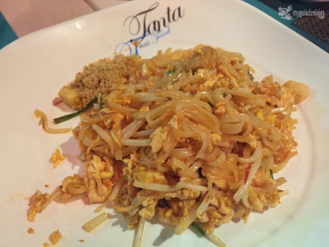 Pad Thai del restaurante Tanta