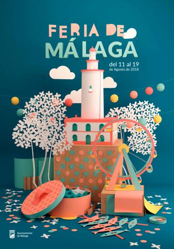 El cartel de este año diseñado por el malagueño Carlos León Sánchez