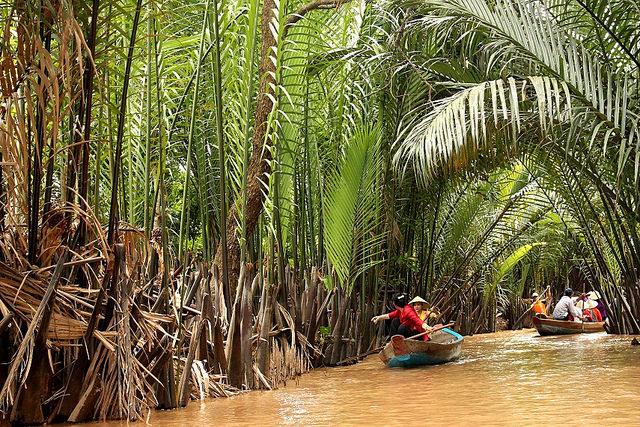 Delta del Mekong. Imagen propiedad de Jordi Martinez. http://milviatges.com/