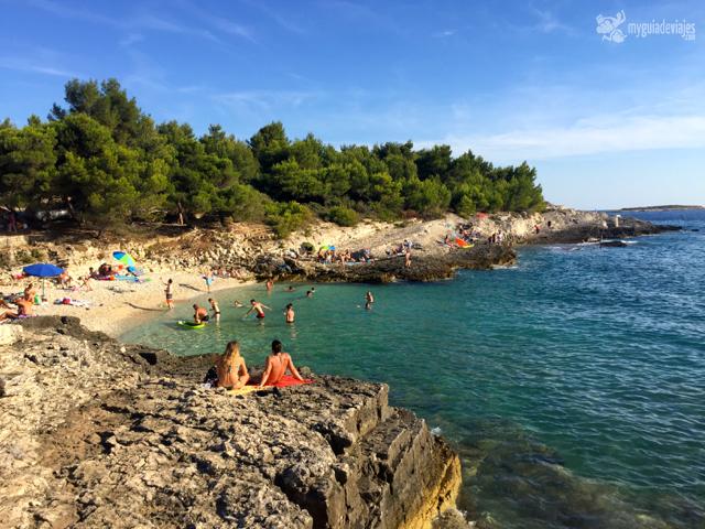 Playa en Istria