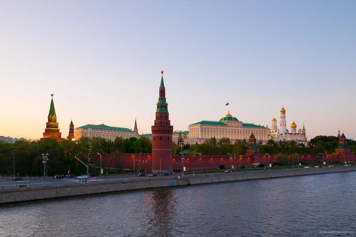 Kremlin y el rio moska