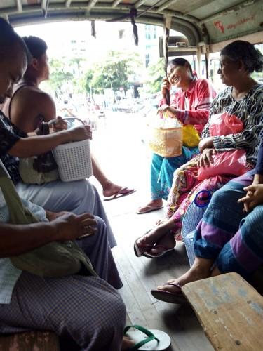 Transporte público en Mandalay