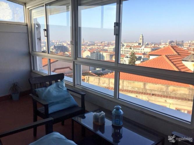 Oporto Joy tiene terraza con muy buenas vistas