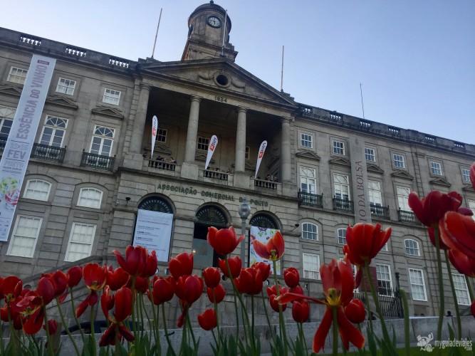 Fachada Palacio da Bolsa