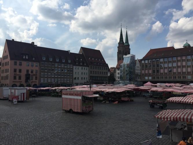 puestos plaza del mercado