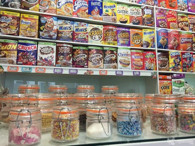 Cientos de cereales donde elegir
