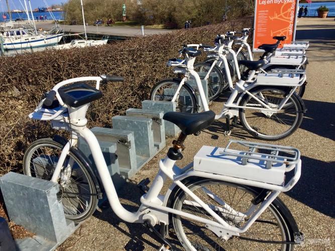 Bicicletas de alquiler con gps incorporado