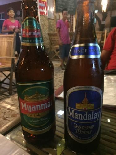 Myanmar y Mandalay, dos de las cervezas birmanas
