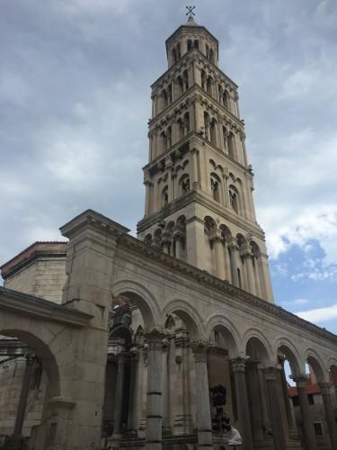 Catedral de San Duje y su campanario