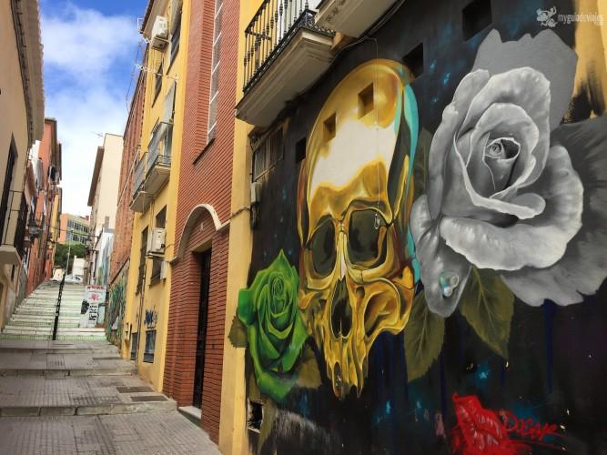 Mural de Doger en el barrio de Lagunillas