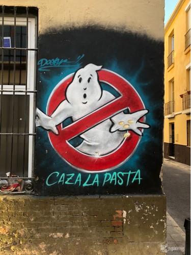 Uno de los últimos graffitis de Doger.