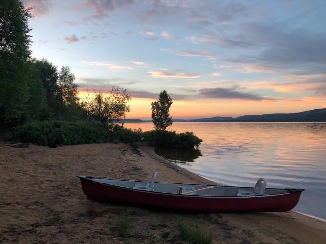 Atardecer en Lac Taureau
