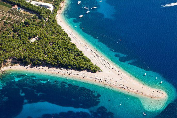 La playa del cuerno de oro. Imagen de wikipedia.org