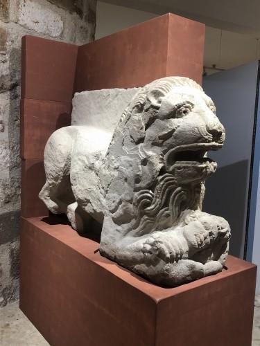 León en Museo arqueológico de Cástulo