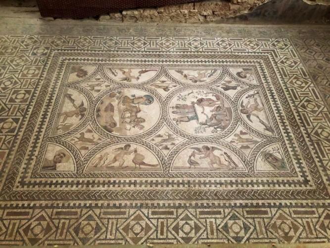 El Famoso Mosaico de los amores, un gran descubrimiento mundial