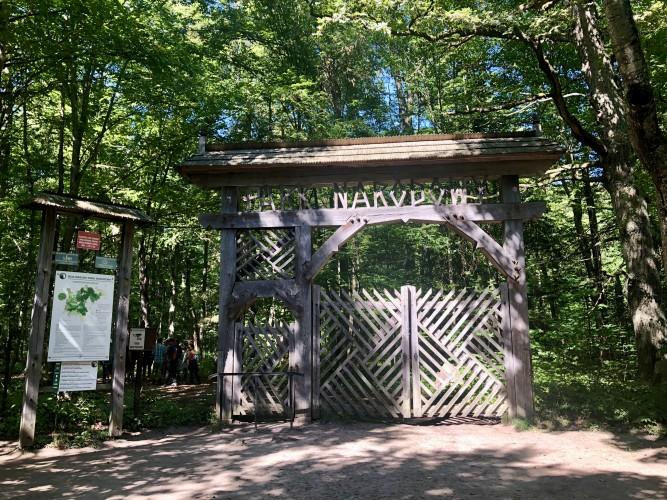 entrada parque bialowieza