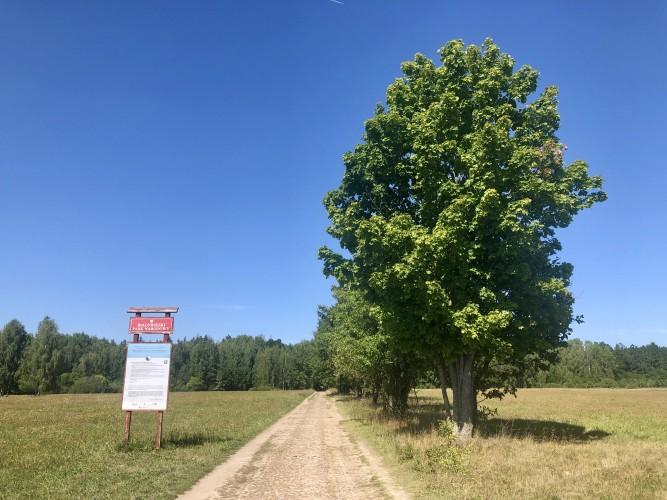 Camino de la zona estrictamente protegida