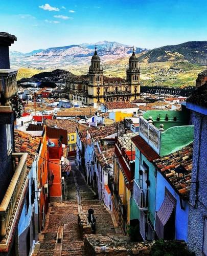 Jaén desde lo alto del barrio