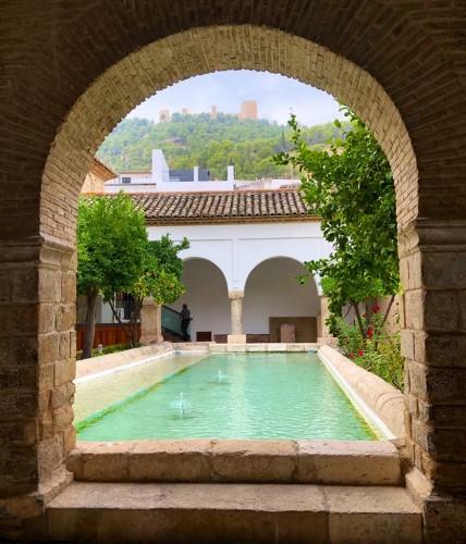 Jaén capital guarda rincones muy bonitos.