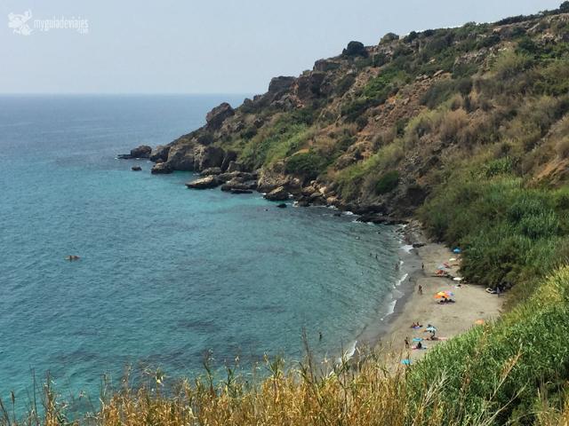 Playa de la Caleta de Maro