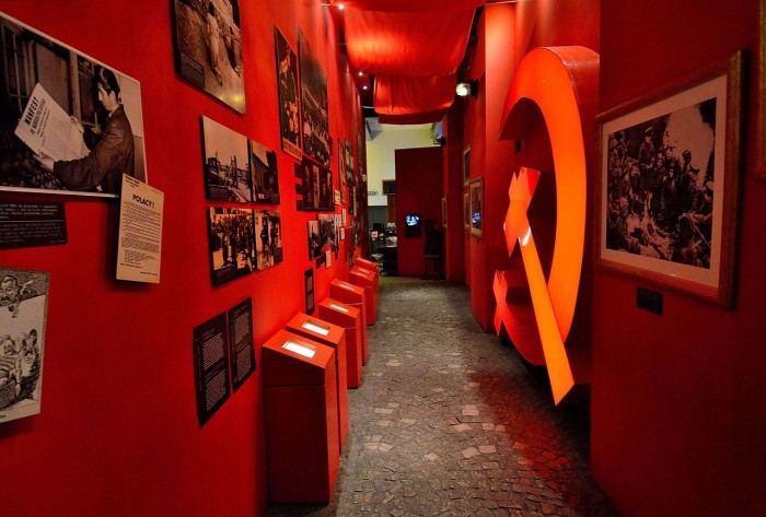 Sección soviética del museo